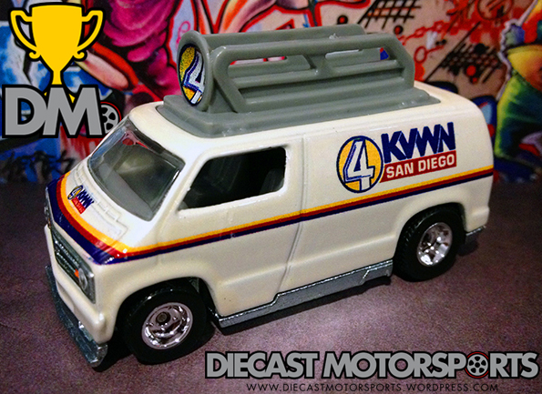 Custom 77 Dodge Van - 14 Entertainment copy