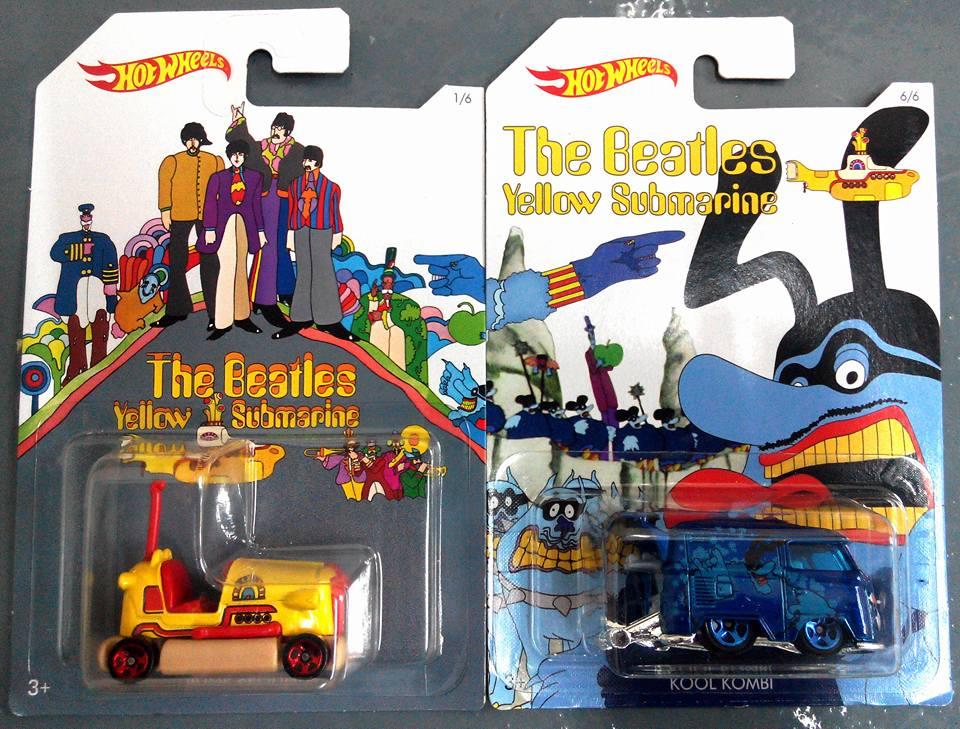 The Beatles Yellow Submarine Hot Wheels 1