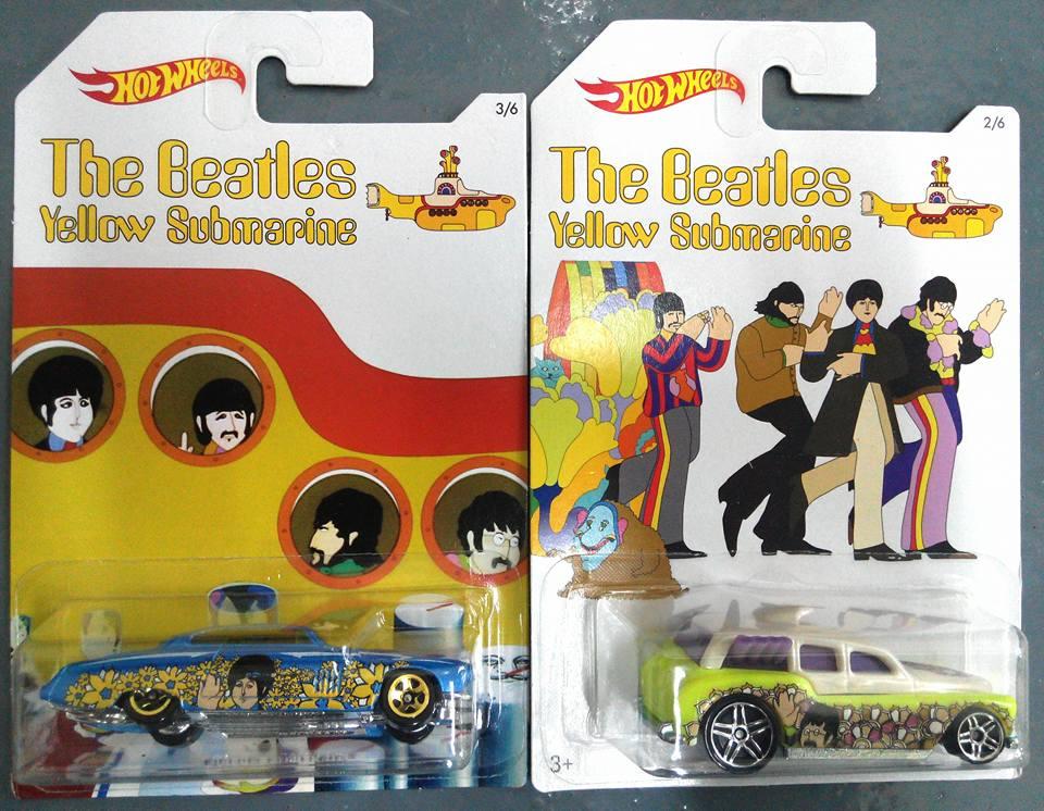 The Beatles Yellow Submarine Hot Wheels 2