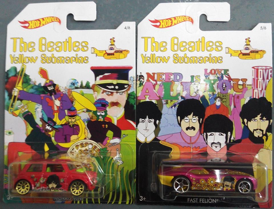 The Beatles Yellow Submarine Hot Wheels 3