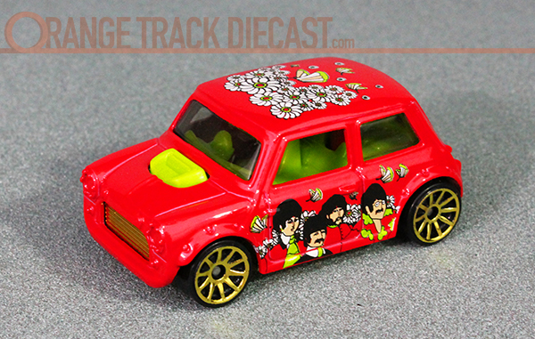 The Beatles Yellow Submarine Series Mini Cooper Orange