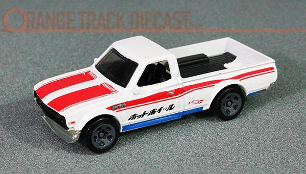 Hot Wheels Trucks Datsun 620 Orange Track Diecast