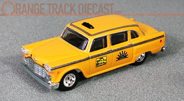 Checker Cab London >> Entertainment / Taxi: '74 CHECKER TAXI CAB – ORANGE TRACK DIECAST