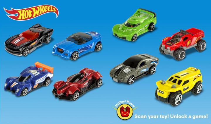 New Mcdonald S Hot Wheels 8 Car Set For 2017 Orange