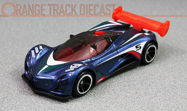 mystery models mazda furai orange track diecast. Black Bedroom Furniture Sets. Home Design Ideas