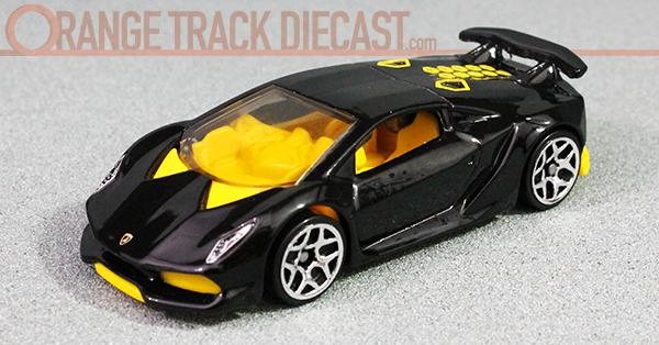 Lamborghini Series 2017 Orange Track Diecast