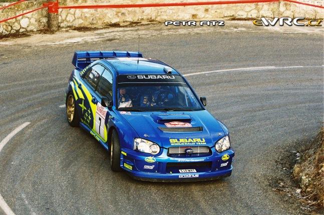 2003 Rallye Monte Carlo Subaru Impreza Solberg-Mills-7 DRIVERS