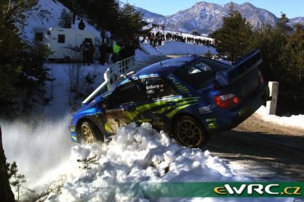 2003 Rallye Monte Carlo Subaru Impreza Solberg-Mills-7 WRECK1
