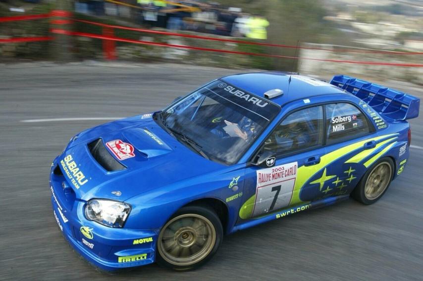 2003 Rallye Monte Carlo Subaru Impreza Solberg-Mills-7