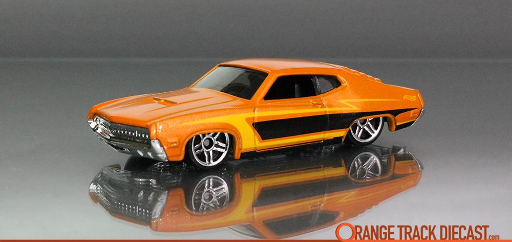 Ford Torino  Muscle Mania Pk Kpxotd Orange Trackcast