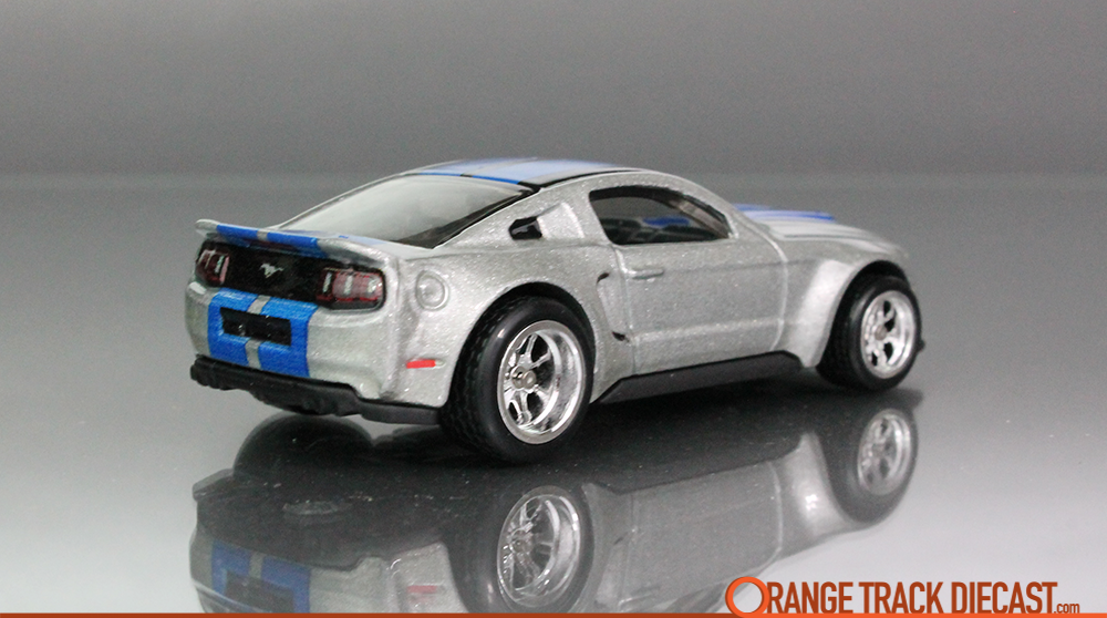 Entertainment Need For Speed Custom 14 Ford Mustang Orange