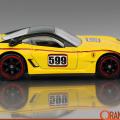 Ferrari 599xx Casting Profile – 10 Speed Machines YELLOW 1200pxOTD