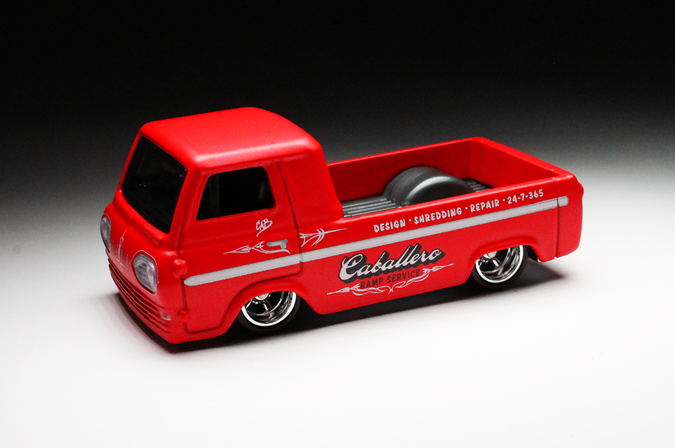 HOT WHEELS Car Culture Shop Trucks /'60s FORD ECONOLINE PICKUP