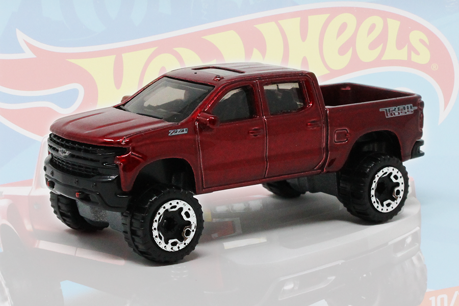 HW Hot Trucks (2018 New Model): '19 CHEVY SILVERADO TRAIL ...