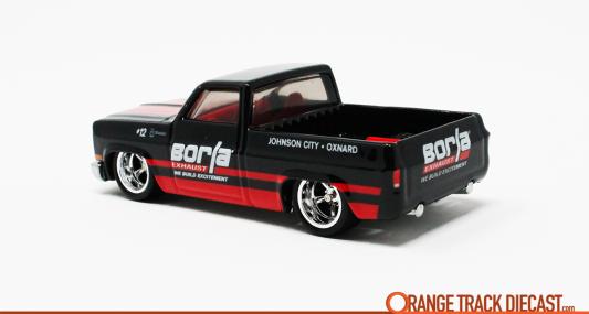 Hot Wheels Car Culture Shop Trucks /'83 Chevy Silverado Borla