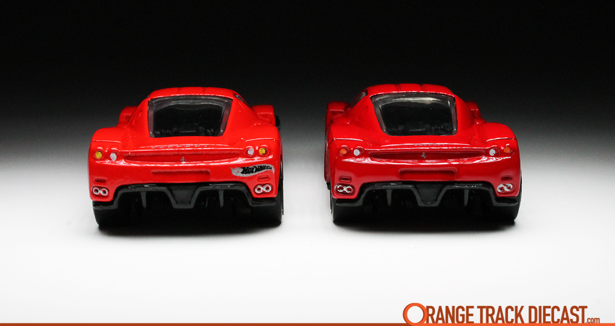 2003 First Editions Enzo Ferrari Orange Track Diecast