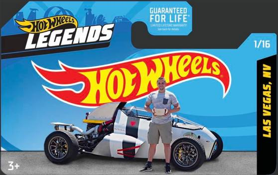 Hot Wheels Legends Winner 2Jetz