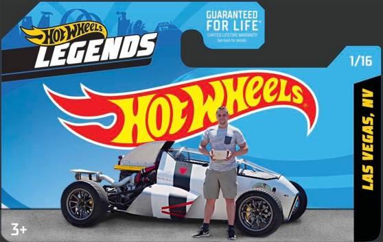 Hot Wheels Legends Winner 2Jetz