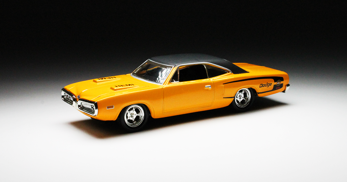 100% hot wheels / muscle car series: '70 dodge coronet super bee