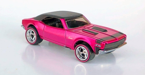 Custom Camaro from the 19th Annual Hot Wheels Collectors Nationals Convention (2019). Image courtesy of Collectors Events Unlimited.