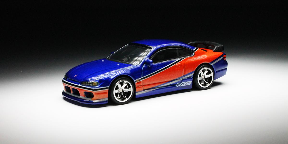 Fast Furious Fast Imports Nissan Silvia S15 Orange Track Diecast