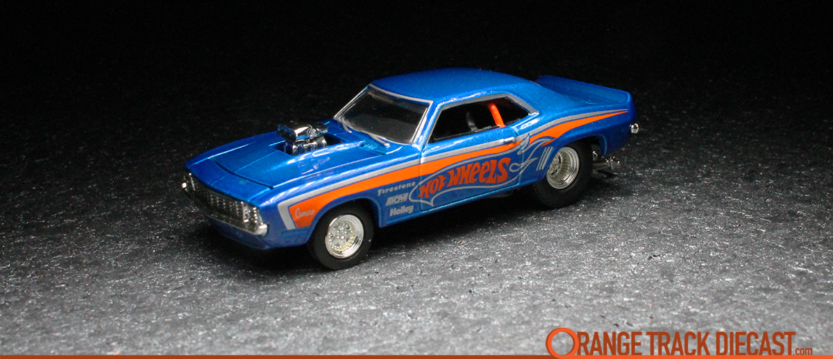 100% Hot Wheels / Motown Metal 2-Pack: '69 CHEVY CAMARO