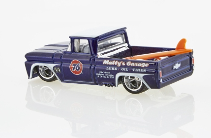 Photo of the Custom '62 Chevy Truck from the 33rd Annual Collectors Convention courtesy of Collectors Events Unlimited.