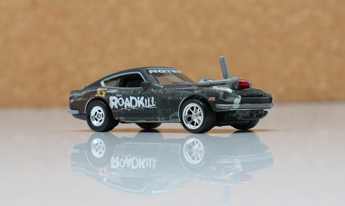 Roadkill Fan Favorite Rotsun Makes It S Hot Wheels Debut Subscribe To Motortrend App To Get Yours Orange Track Diecast