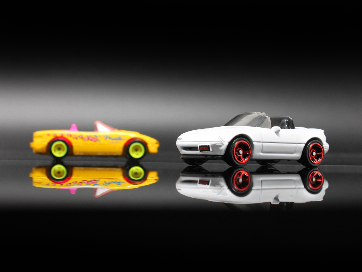 The Cute 90s Convertible Turned Modded Race Car The Hot Wheels Take On The Mazda Miata Subculture Phenomenon Orange Track Diecast