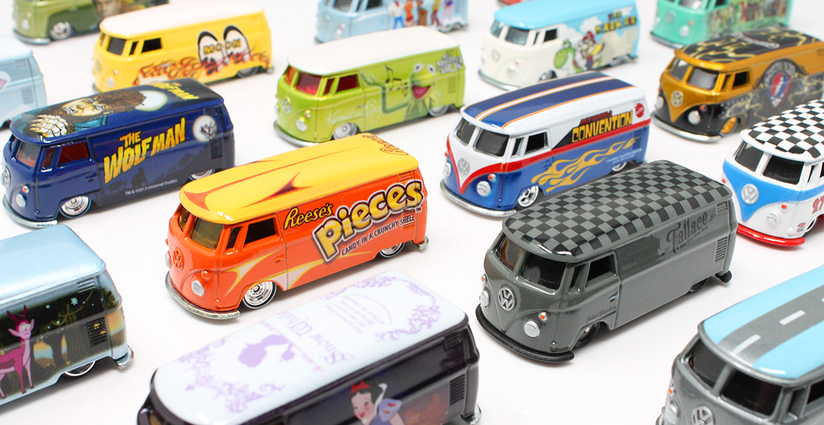 Collection Update: Just finished the Hot Wheels VOLKSWAGEN T1 PANEL collection — for now!