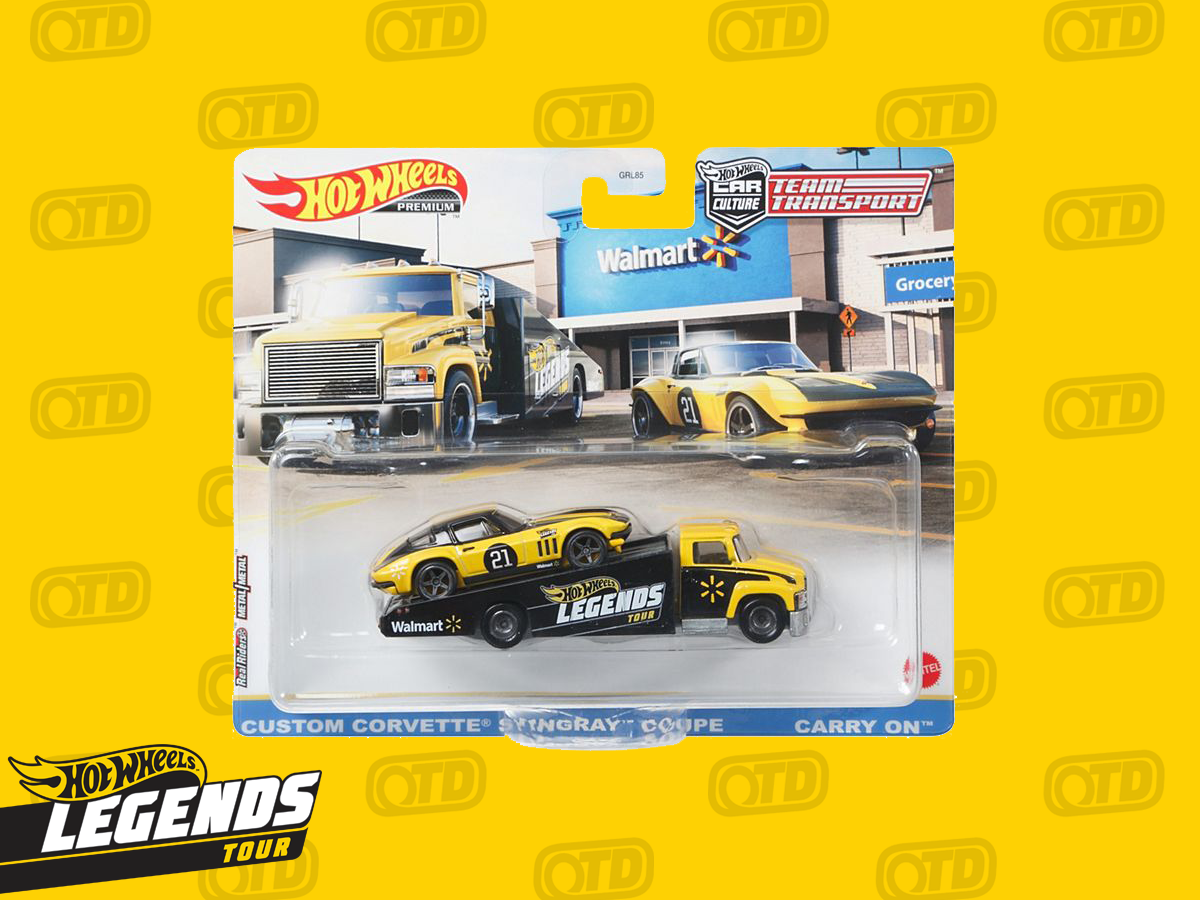 Team Transport duo will be 2021 Hot Wheels Legends Tour EXCLUSIVE