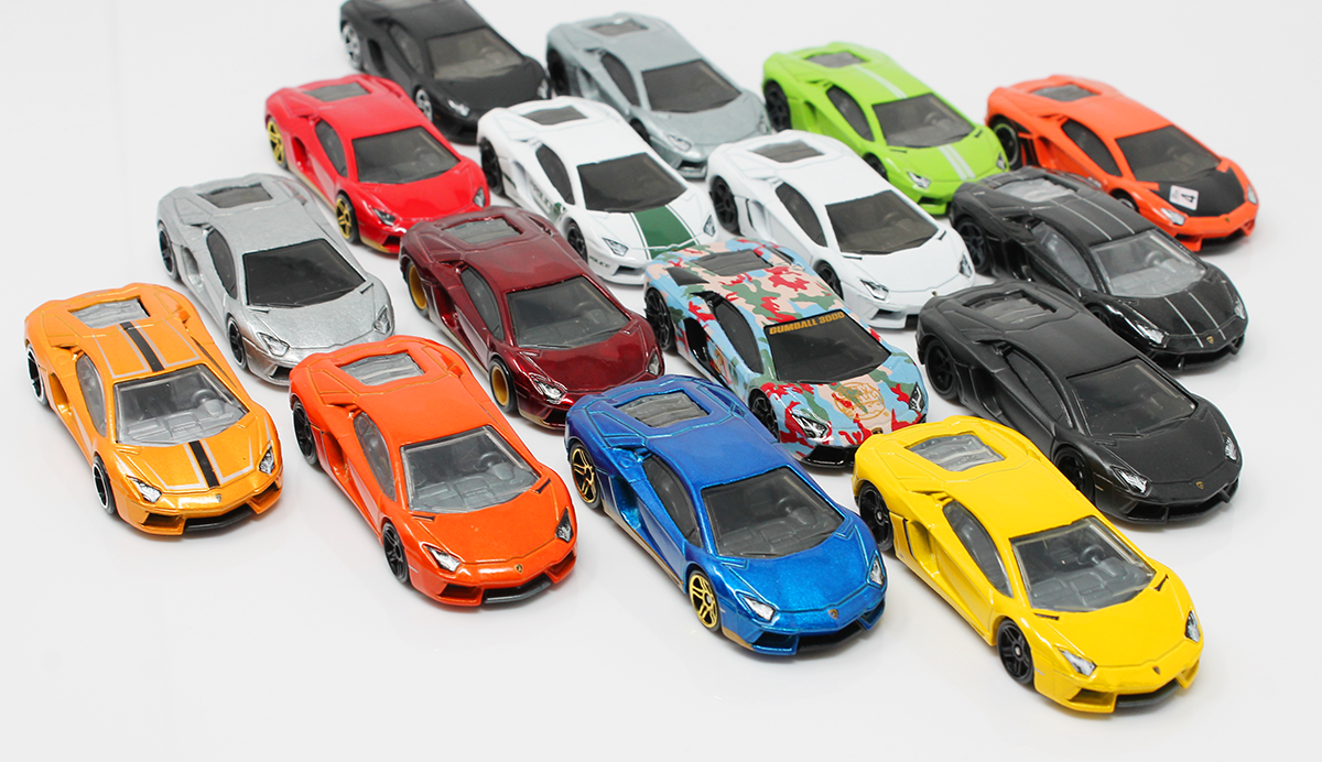 Collection Update: Venturing back to collect the Hot Wheels LAMBORGHINI AVENTADOR LP 700-4